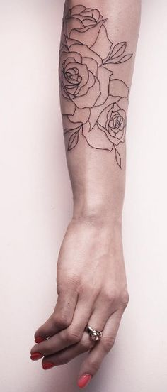 rose tattoo outline                                                                                                                                                                                 More