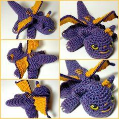 There's been too much of the same color on my feed the last few days so here's a little purple to make things pop!  #crochels #crochet #crocheting #etsyusa #etsyfinds #etsyshopowner #etsyseller #etsy #etsystore #crochetblog #kawaiicrochet #supporthandmade #enchanted #handmade #smallbusinesslove #fantasy #fantasyworld #goteamflourish #supportsmallbusinesses #dragons #babydragon #fantasycreature #kawaii #spyro #enchanting #mystical #geekygifts #crochettoys #amigurumi #kawaiiplush