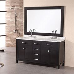The London Collection Bathroom Vanity by Design Element USA