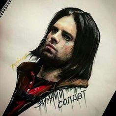 Awesome Bucky art