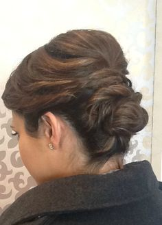 Lovely updo by Stacia at Sine Qua Non Lakeview #SQNChicago