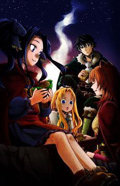 Original work from Light Novel. Tate no Yuusha no Nariagari Fanart Manga, Chica Anime Manga, Anime Boys, Anime Art, Anime Suggestions, Spice And Wolf, Hero Wallpaper, Anime Life, Anime Characters