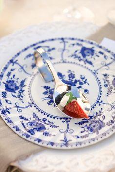 Love that color blue - Parisian chic