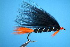 Black Marabou Streamer