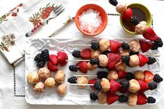 Donut Hole Skewers | 31 Foods On A Stick That Are Borderline Genius