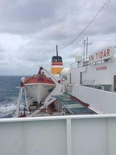 Long trip with tidar ship