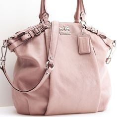 Madison leather Lindsey satchel from Coach.