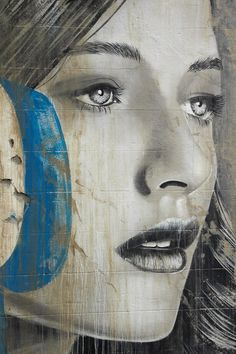 Rone street art in Collingwood. Melbourne street art is simply amazing! Click through for an interview with street artist Rone.
