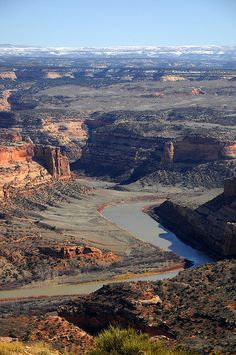 Mee Canyon & the Colorado River, McInnis Canyons National Conservation Area, Colorado.  Photo: Matt McGrath Photography, via Flickr