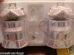 NEW IN BOX - LENOX CREAM & SUGAR SET CONFECTIONARY AND CREAMERY PORCELAIN 1991