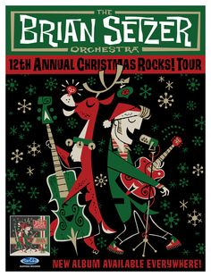 #ShareTheHolidays and win 2 tickets to see the Brian Setzer Orchestra in #Omaha!