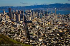 The view from Twin Peaks to downtown - San Francisco views from above