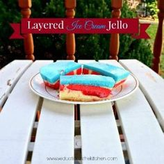 Layered Ice Cream Jello | Seduction in the Kitchen
