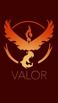 Pokemon Go! Team Red/Team Valor #Pokémon #PokémonGo
