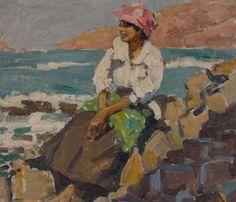 Native Woman, Cape Verde Islands by Geoffrey Stephen Allfree