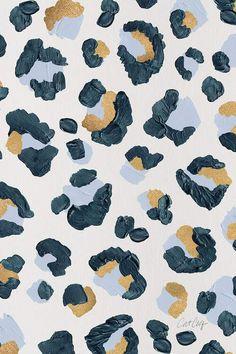 animal print wallpaper Snow Leopard - Leopard Print Canvas Artwork by Cat Coquillette Animal Print Wallpaper, Cute Patterns Wallpaper, Aesthetic Pastel Wallpaper, Aesthetic Wallpapers, Aztec Pattern Wallpaper, Snow Leopard Wallpaper, Fabric Wallpaper, Watch Wallpaper, Iphone Background Wallpaper