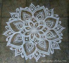 Rangoli Borders, Rangoli Border Designs, Small Rangoli Design, Rangoli Patterns, Rangoli Ideas, Rangoli Designs Images, Rangoli Designs Diwali, Kolam Rangoli, Beautiful Rangoli Designs