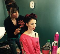 Prepping final model for the shoot