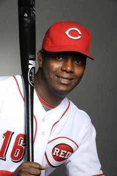 Edgar Renteria...jugador de baseball en Estados Unidos