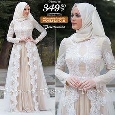 Tesettürlü Abiye Elbise - Dantel Detaylı Beyaz Abiye Elbise #tesettur #tesetturabiye #tesetturgiyim #tesetturelbise #tesetturabiyeelbise #kapalıgiyim #kapalıabiyemodelleri #şıktesetturabiyeelbise #kışlıkgiyim #tunik #tesetturtunik