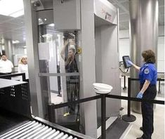 The Israelis are developing an airport security device that eliminates the privacy concerns that come with full-body scanners. It's an armored booth you step into that will not X-ray you, but will detonate any explosive device you may have on your person. Israel sees this as a win-win situation for everyone with none of this nonsense about racial profiling. #aviationhumorairports