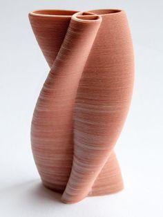 Fine Porcelain China Diane Japan Value Ceramic Pottery, Ceramic Art, Sogetsu Ikebana, Pottery Painting Designs, Keramik Vase, Organic Shapes, Art Object, Decoration, 3d Printing