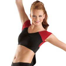 why can't we wear crop tops to dance!