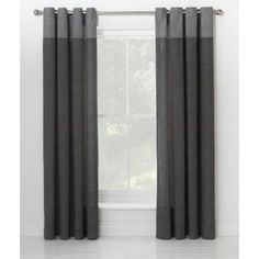 Buy Dublin Unlined Eyelet Curtains - 117 x 137cm - Charcoal at Argos.co.uk, visit Argos.co.uk to shop online for Curtains