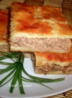 Lasagna, Tiramisu, Sandwiches, Food And Drink, Cooking Recipes, Ethnic Recipes, Home, Zucchini, Pie