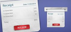 Free PSD Receipt Files  :: Download Free PSD Files