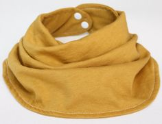 Items similar to Infinty Scarf Bib Mustard Yellow on Etsy Baby Infinity Scarves, Handmade Baby, Baby Bibs, Mustard Yellow, Baby Wearing, Creations, How To Wear, Kids, Etsy