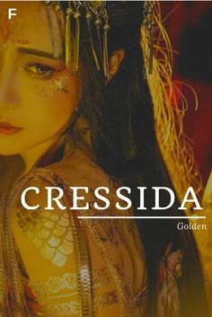 Cressida meaning Golden Literary/Greek names C baby girl names C baby names - Baby Showers Cressida bedeutet goldene literarische / griechische Namen C Babynamen C Babynamen Unique Girl Names, Names Girl, Names Baby, Greek Girl Names, Unique Female Names, Female Character Names, Female Fantasy Names, Main Character, Baby Name Book
