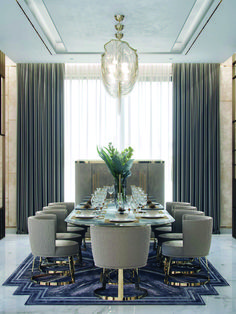 Surprising dining room lighting with shades you'll love