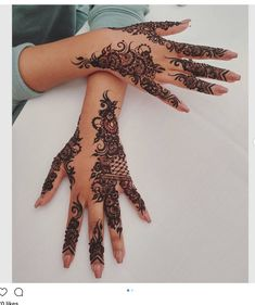 Mehndi design is one of the most authentic arts for girls. The ladies who want to decorate their hands with the best mehndi designs. Henna Hand Designs, Eid Mehndi Designs, Henna Tattoo Designs, Pretty Henna Designs, Mehndi Designs Finger, Arabic Henna Designs, Mehndi Designs For Girls, Modern Mehndi Designs, Bridal Henna Designs