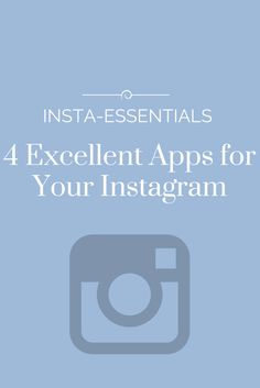 The Urban Umbrella | A Vancouver Style Blog by Bree Aylwin: 4 Apps to Improve your Instagram