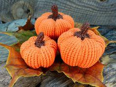 FREE SHIPPING Halloween Set of Three Crochet by ColoredYarn