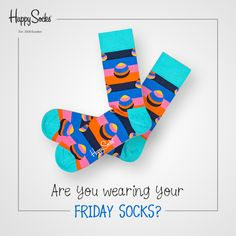 They are like normal socks, but they are ready to party! #HappySocks
