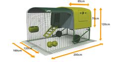 Eglu Cube Chicken House | Chicken Keeping | Shop | Omlet UK  Haven't bothered with a run as our Pekins will be free ranging.