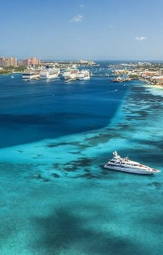 Top Five Reasons Yacht Charters in Bahamas Are Better Bahamas Resorts, Bahamas Vacation, Nassau Bahamas, Caribbean Vacations, Caribbean Sea, Paradise Island, Island Life, Places Around The World, Travel Around The World