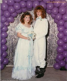 Awkward Prom Photos. Mostly from the 80's. All will make you LOL!