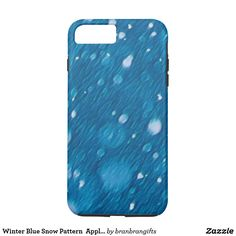 Pick up some new Winter iPhone cases and choose your favourite design from a variety of covers! Winter Holidays, Christmas Holidays, Winter Blue, Christmas And New Year, Iphone Case Covers, Apple Iphone, Snow, Pattern, Design