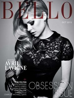 Avril Lavigne – Bello Magazine (October 2013)