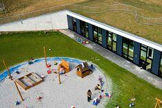 Henning Larsen's Day Care Center is a Green-Roofed Paradise for Children in Denmark