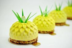 Nouveau gateau exotique @losmanthe : caramel, coco et ananas