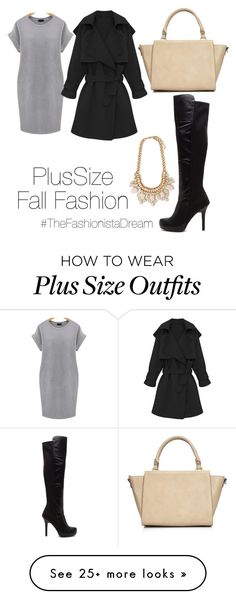 """""""PlusSize Look 2"""" by thefashionistadream on Polyvore featuring Wallis, Forever 21 and plus size dresses"""