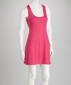 Take a look at this Peony Racerback Tunic by Feathers on #zulily today!