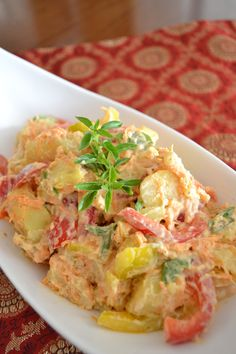 Chef in Disguise does potato salad 4 ways ... I want to try them all!