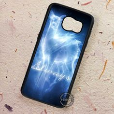 Always Expecto Deathly Hallows Spells - Samsung Galaxy S7 S6 S5 Note 7 Cases & Covers