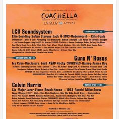 #coachella 2016 lineup