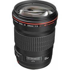 Canon EF 135mm f/2L USM Lens 2520A004 B&H Photo Video
